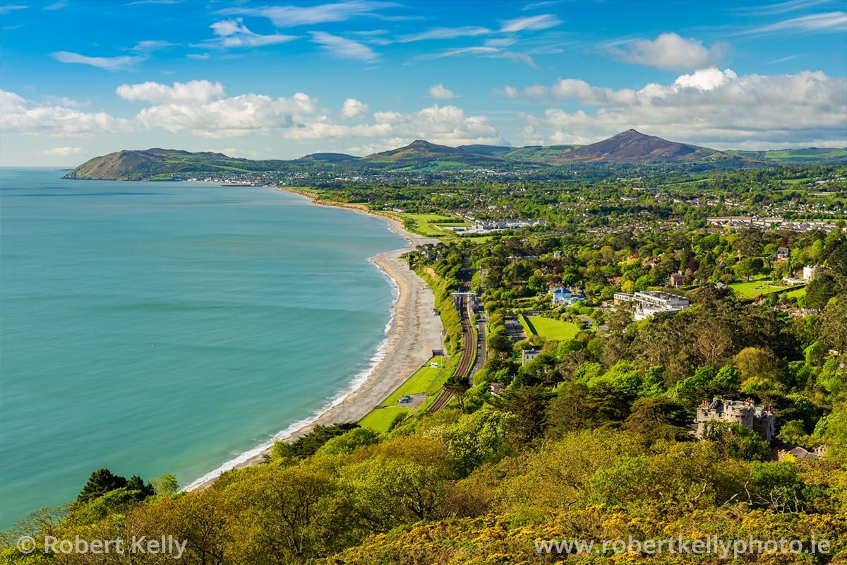 Killiney Bay, County Dublin, Ireland