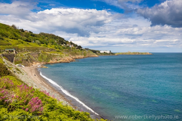 A summer's afternoon at Whiterock Beach, Killiney Bay
