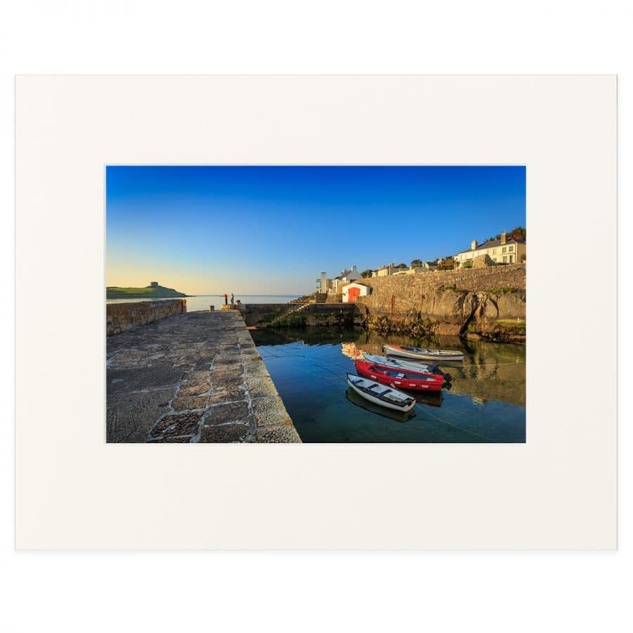 Early morning at Coliemore Harbour