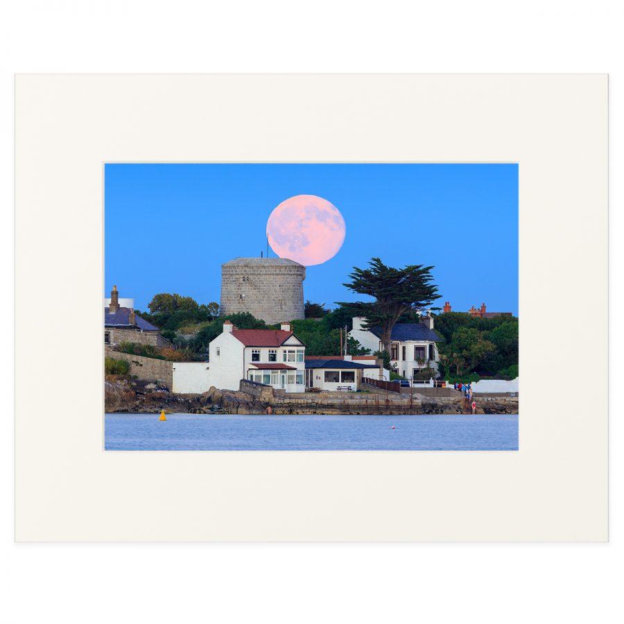 Moonrise at Sandycove Beach Co. Dublin