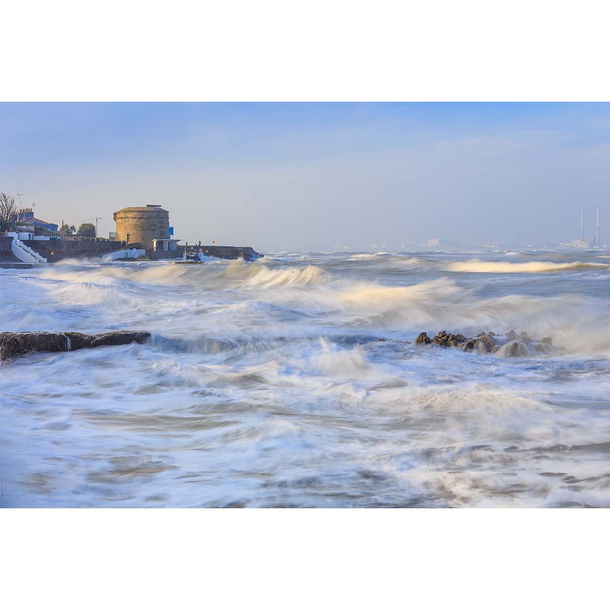 "Seapoint Beach © Robert Kelly. Unframed print 11"" x 14"""