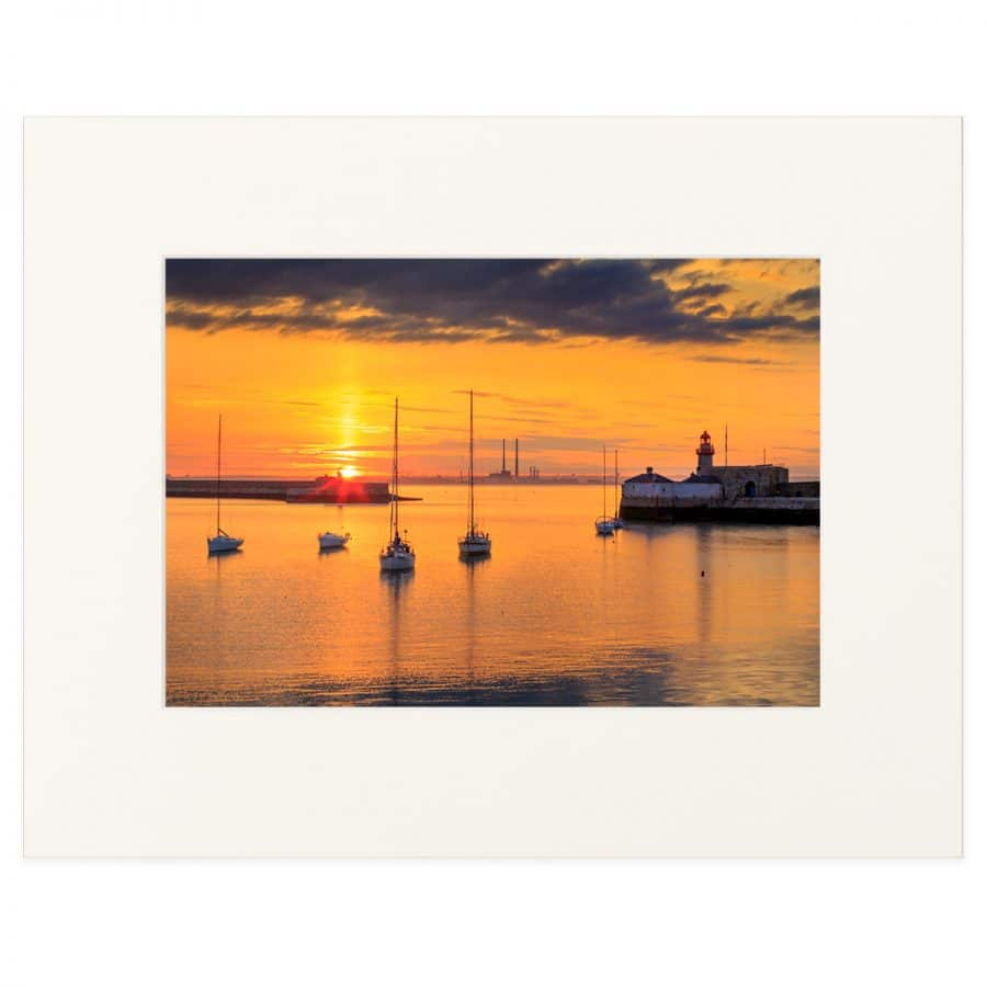 Sunset at Dun Laoghaire Harbour