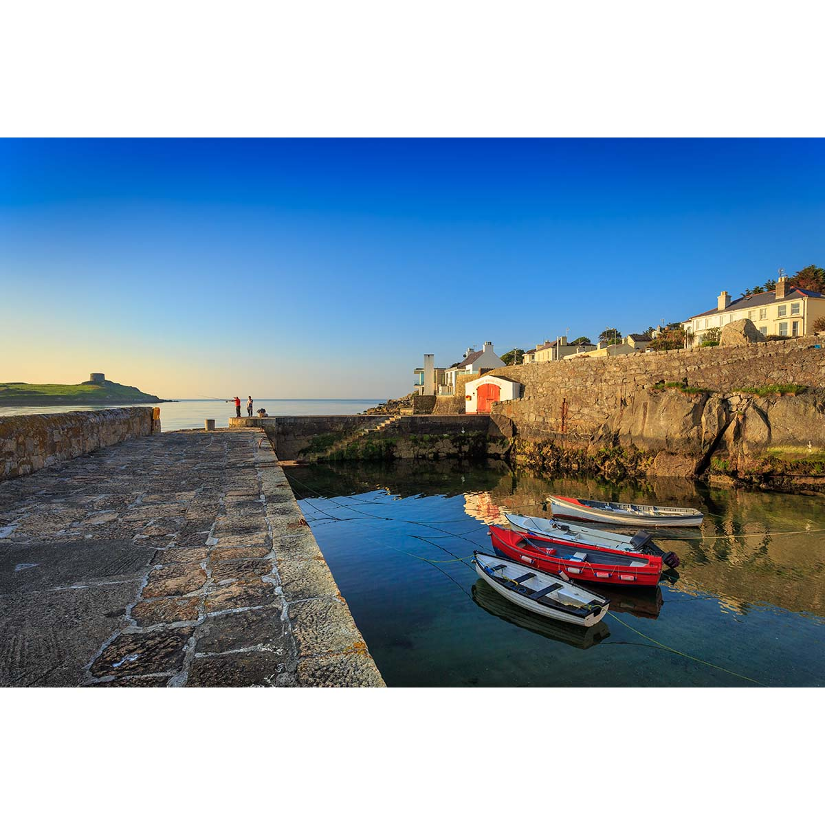 Coliemore Harbour Dalkey image copyright Robert Kelly