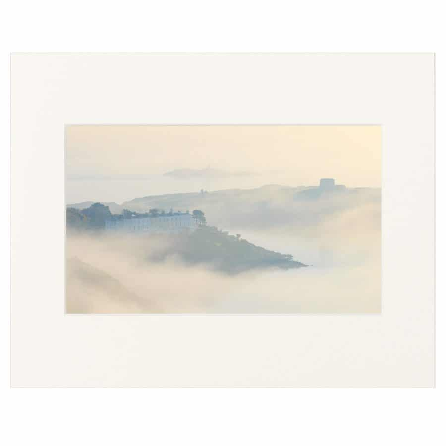 Early morning mist over Sorrento Point & Dalkey Island