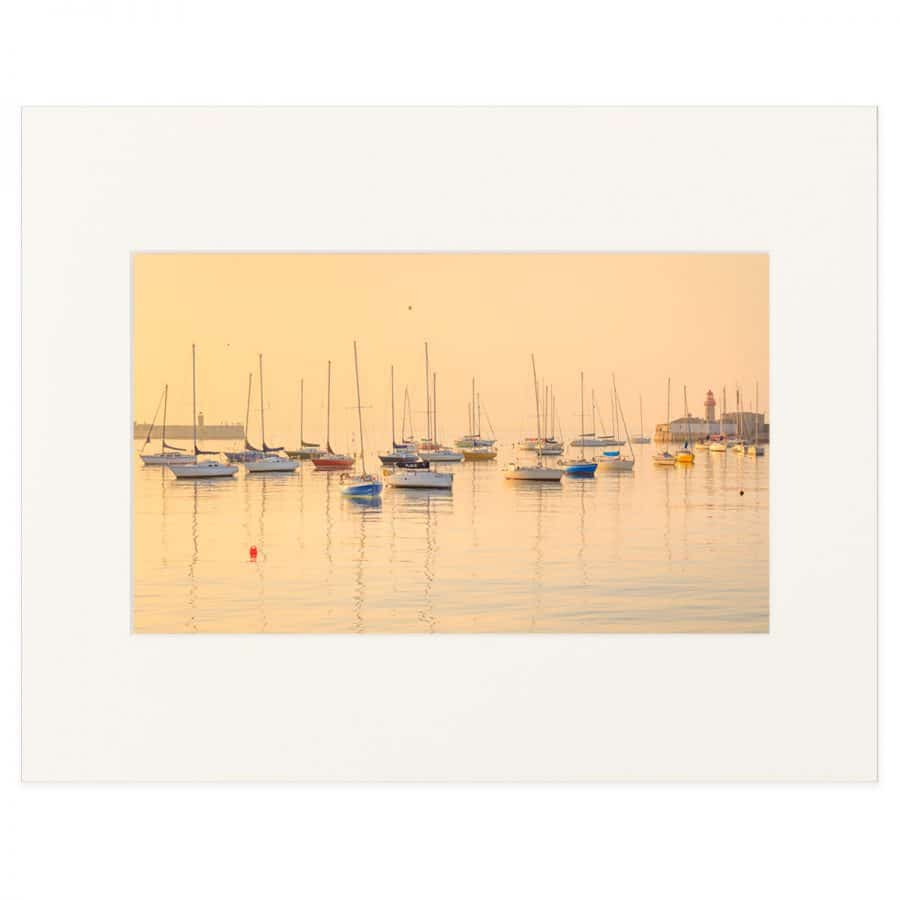 A warm summer's evening in Dun Laoghaire Harbour