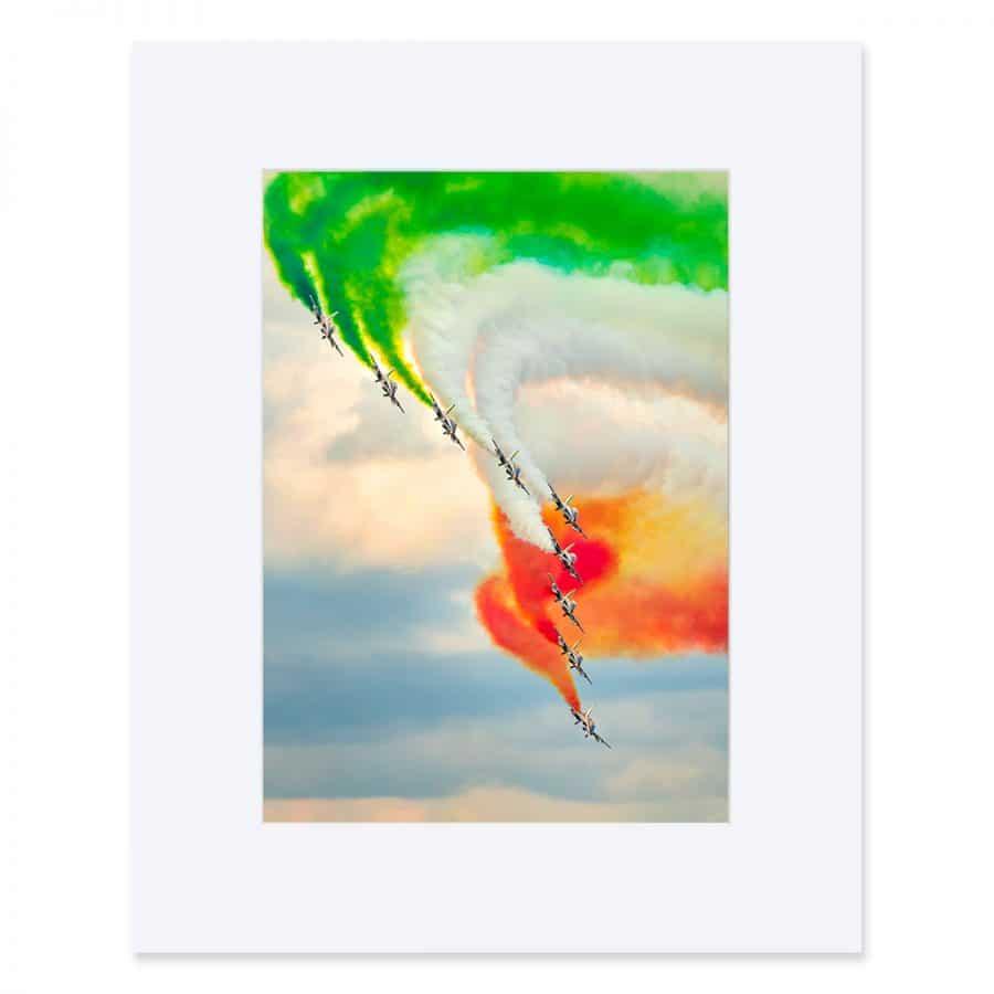 """Le Frecce Tricolori Fine Art Print 11"""" x 14"""""""
