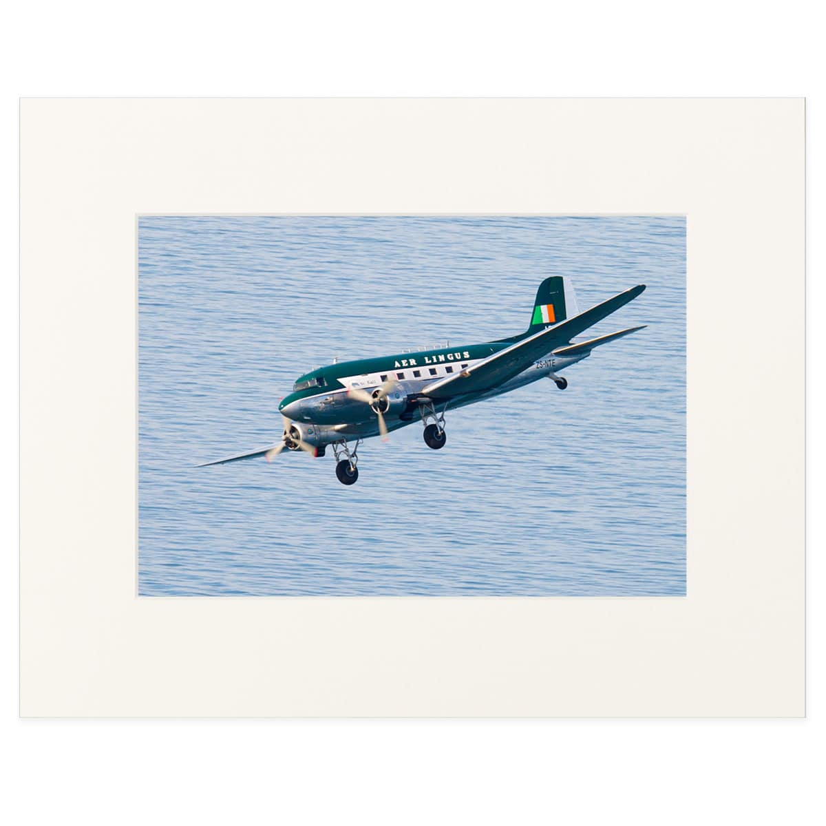"Douglas DC3 in Aer Lingus livery 11"" x 14"" print"