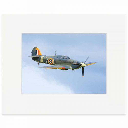 """Hawker Sea Hurricane 8"""" x 10"""" print"""