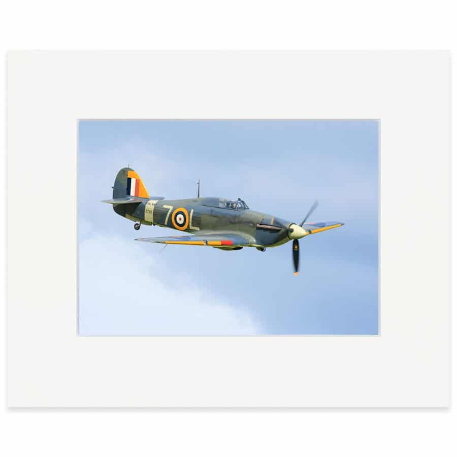 "Hawker Sea Hurricane 8"" x 10"" print"