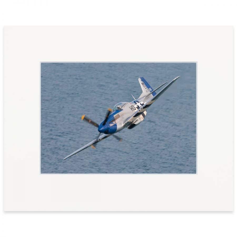"""P-51D Mustang. Fine art print 8"""" x 10"""""""