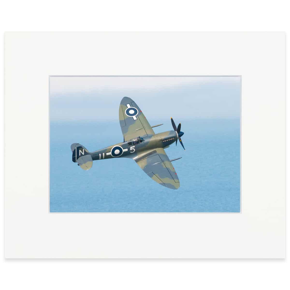 "Supermarine Seafire 8"" x 10"" print"