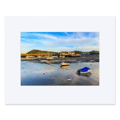 "Bray Harbour, County Wicklow. Fine art print 11"" x 14"""