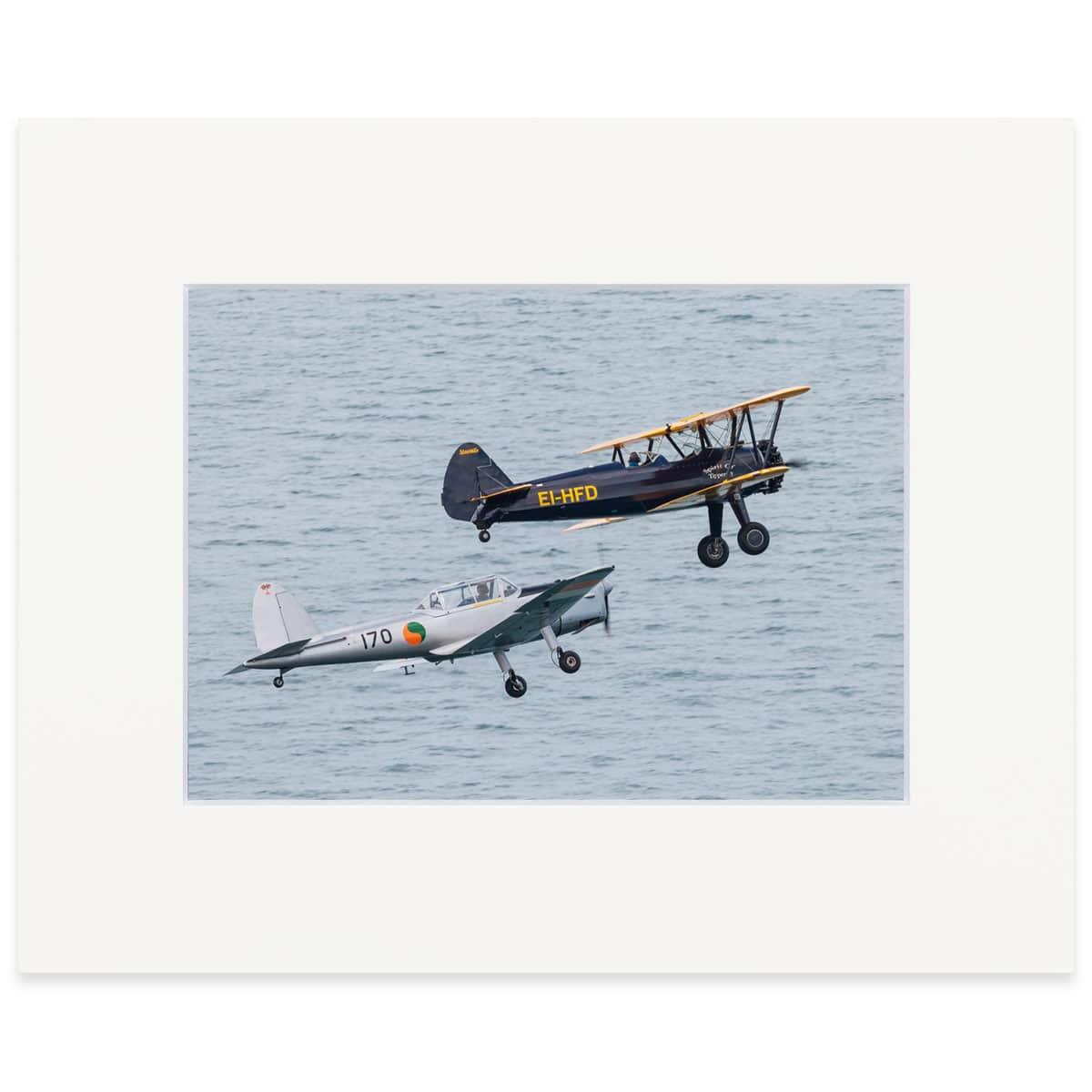 "Irsih Historical Flight 8""x10"" print"