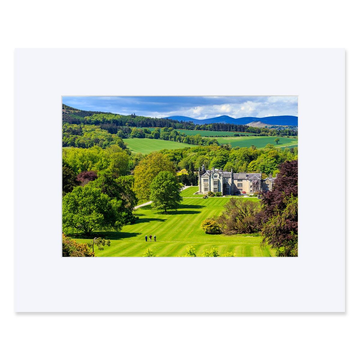 """Kilruddery House, Bray County Wicklow. Fine art print 11"""" x 14"""""""