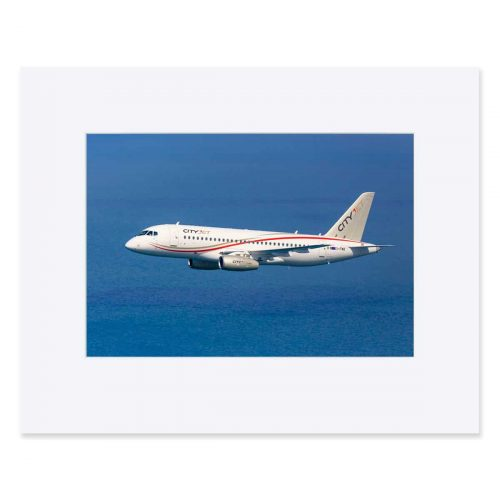 "Sukhoi Superjet 100 (Cityjet) Fine art print 11"" x 14"""