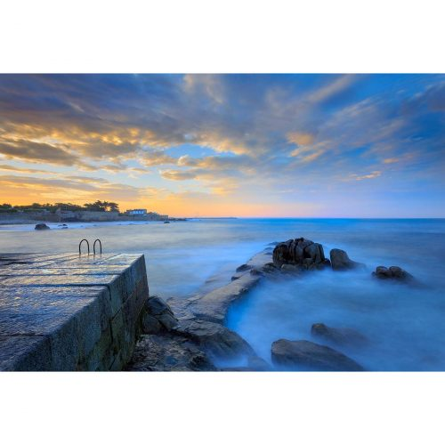 Sunset at Bulloch Harbour, Dalkey