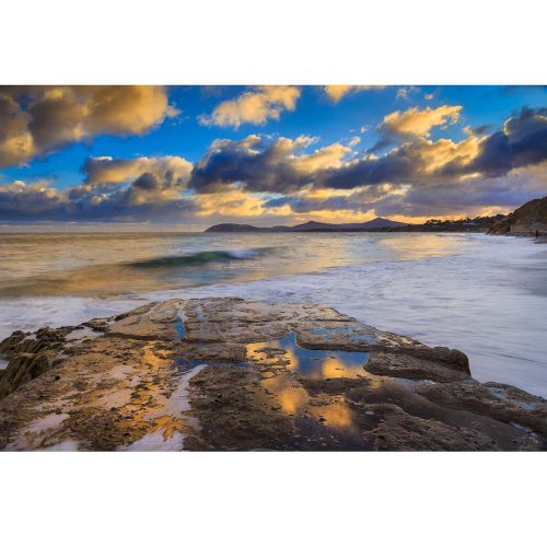 Whiterock Beach and Killiney Bay in midwinter