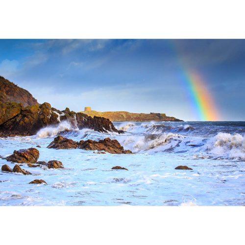 Storm at Whiterock Beach, Killiney © Robert Kelly